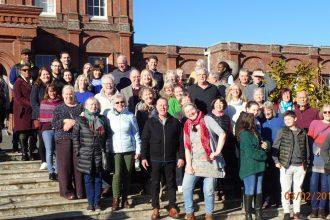 Weekend Away 2019 choir group shot.